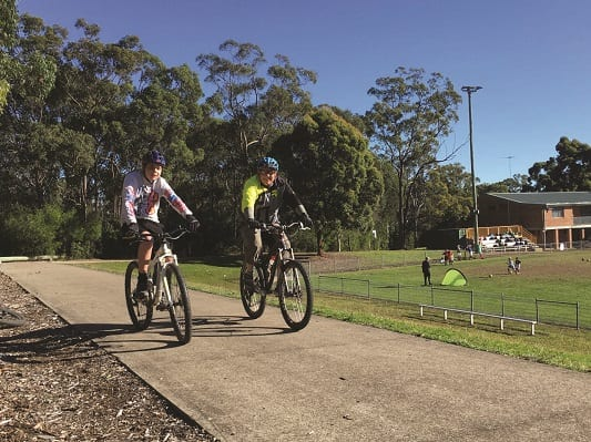 Hills Council has provided excellent bike lanes along Gilbert, Tuckwell and Ridgecorp Roads and a brand new cycle path along Showground Road to access Fred Catty and the new Showground Rail transit hub by bike, from all surrounding suburbs!