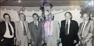 Photo of first comittee members (1968)
