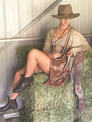 Yaja Hadrys - silk wearable art