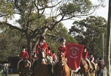 Arcadia Pony Club riders at Zone 23 Jamboree