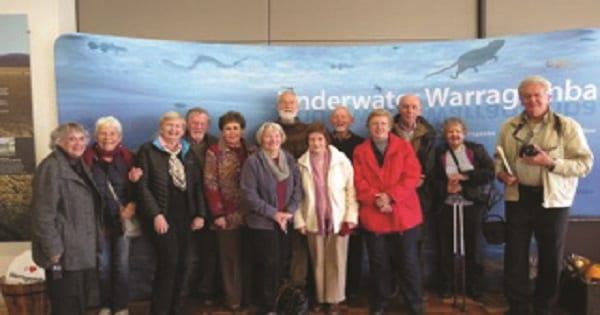 Members on the Oaks and Warragamba tour