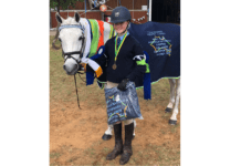 Maddie and Good Scout – winners are grinners!