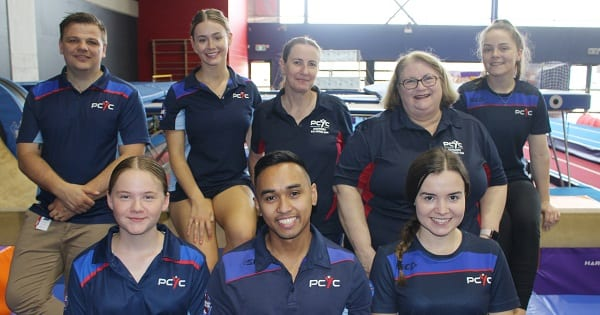 Photo: Back row L-R: Daniel Anderson, Rose Cameron, Renee Gibbs, Michaela Pendleton, Karoline Stirling. Front Row L-R: Lilla Bourke, Jasper Villasana, Katherine Brown