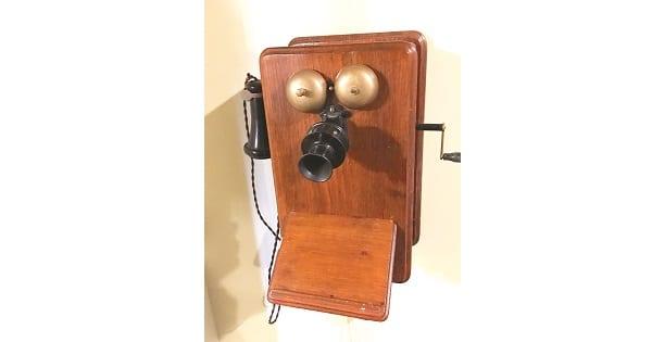 The Fagan Park Ericsson telephone