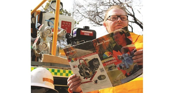 The winter months are ideal to prepare now for the next fire season. Aussie's Bushfire Survival Guide is full of crutial information to keep your property safe. fire pumps